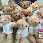 รับปักตุ๊กตาหมี