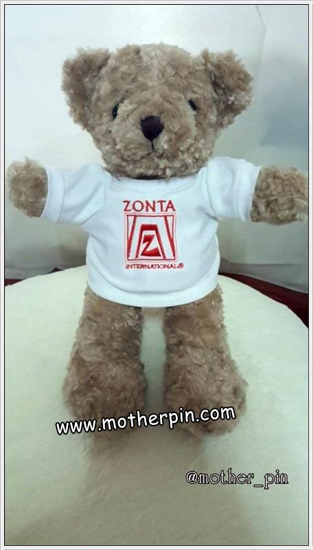 งานปักตุ๊กตาหมี Zonta