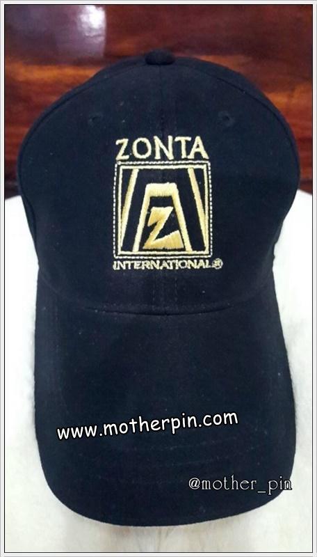 งานปักหมวก Zonta