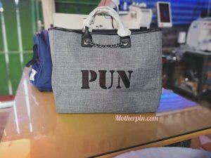 ขายกระเป๋าถือพร้อมปัก