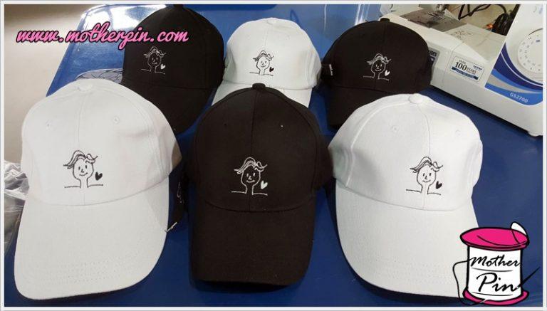 งานปักหมวกแฟนคลับ สไตล์เกาหลี