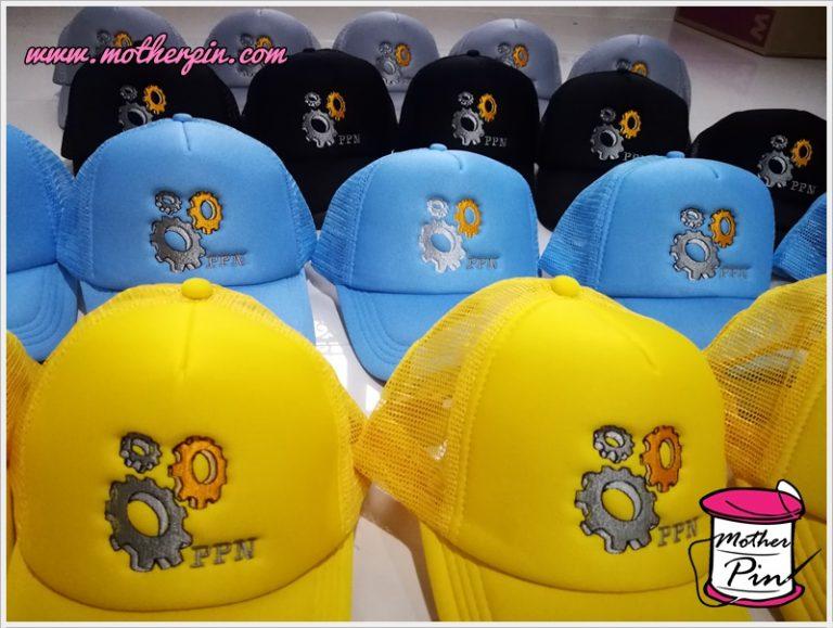 รับปักหมวกบริษัท วิศวกรรม PPN