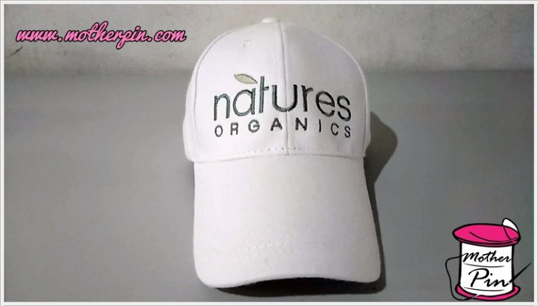 ปักหมวกแก๊ปจำนวนมาก natures organics