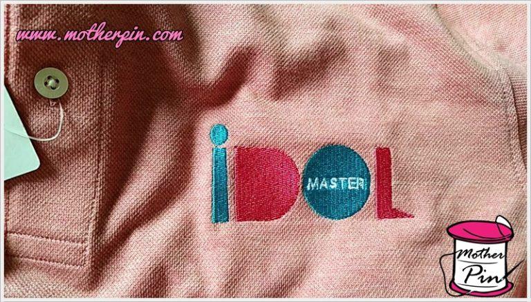 งานปักเสื้อยืดโปโล IDOL MASTER