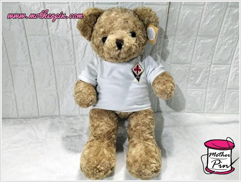 ขายตุ๊กตาหมีพร้อมปักเสื้อ