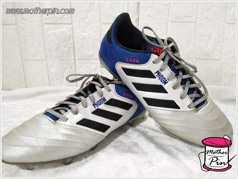 รับปักรองเท้าฟุตบอล รองเท้ากีฬา