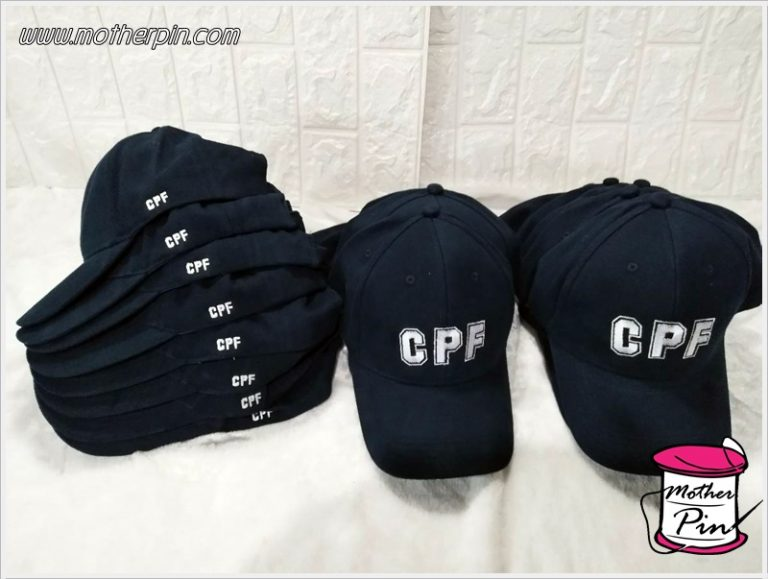 ขายหมวกพร้อมปักสำหรับบริษัท CPF