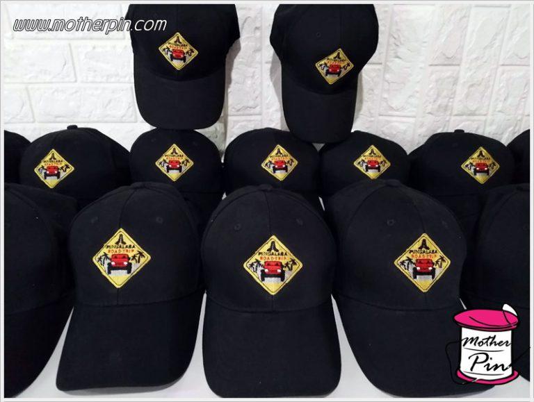 งานปักหมวกผ้า MINGALABA