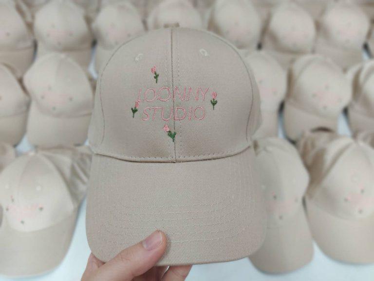 รับผลิตหมวกผ้าพร้อมปัก